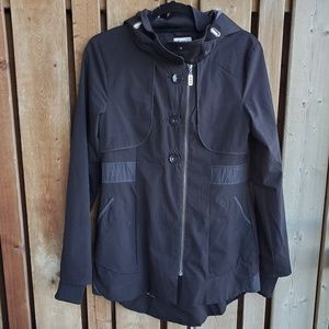 Three Stones Black Fall/Spring Jacket Size S